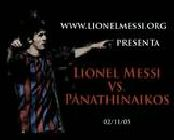 Lionel Messi Vs. Panathinaikos